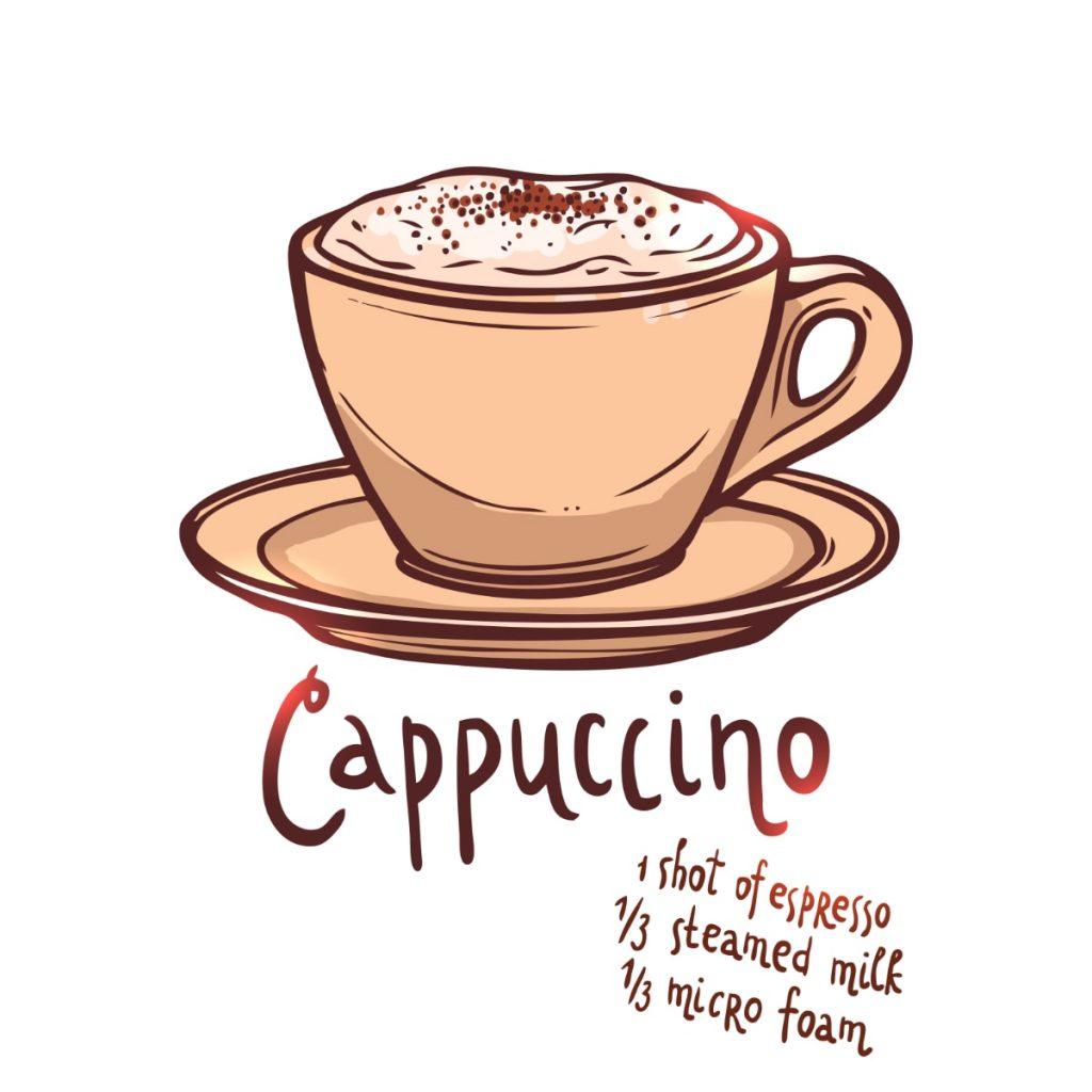Cómo se hace el café Capuchino: ¿En qué taza se sirve el capuccino?