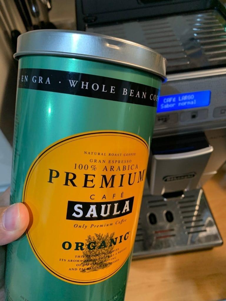 Café Saula: Pack de 2 botes de 500 gr. premium Ecológico