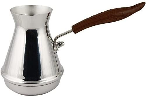 Cafetera turca de acero inoxidable