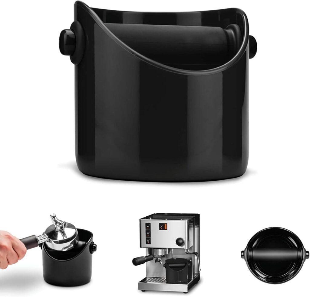 Dreamfarm DFGR1181 Marco Noir - Recipiente para posos de café