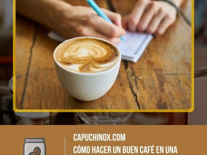 ¿Qué necesitas para hacer un buen café en una cafetera express?