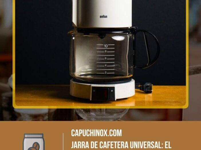 Jarra de cafetera universal: el repuesto perfecto para cafeteras de goteo