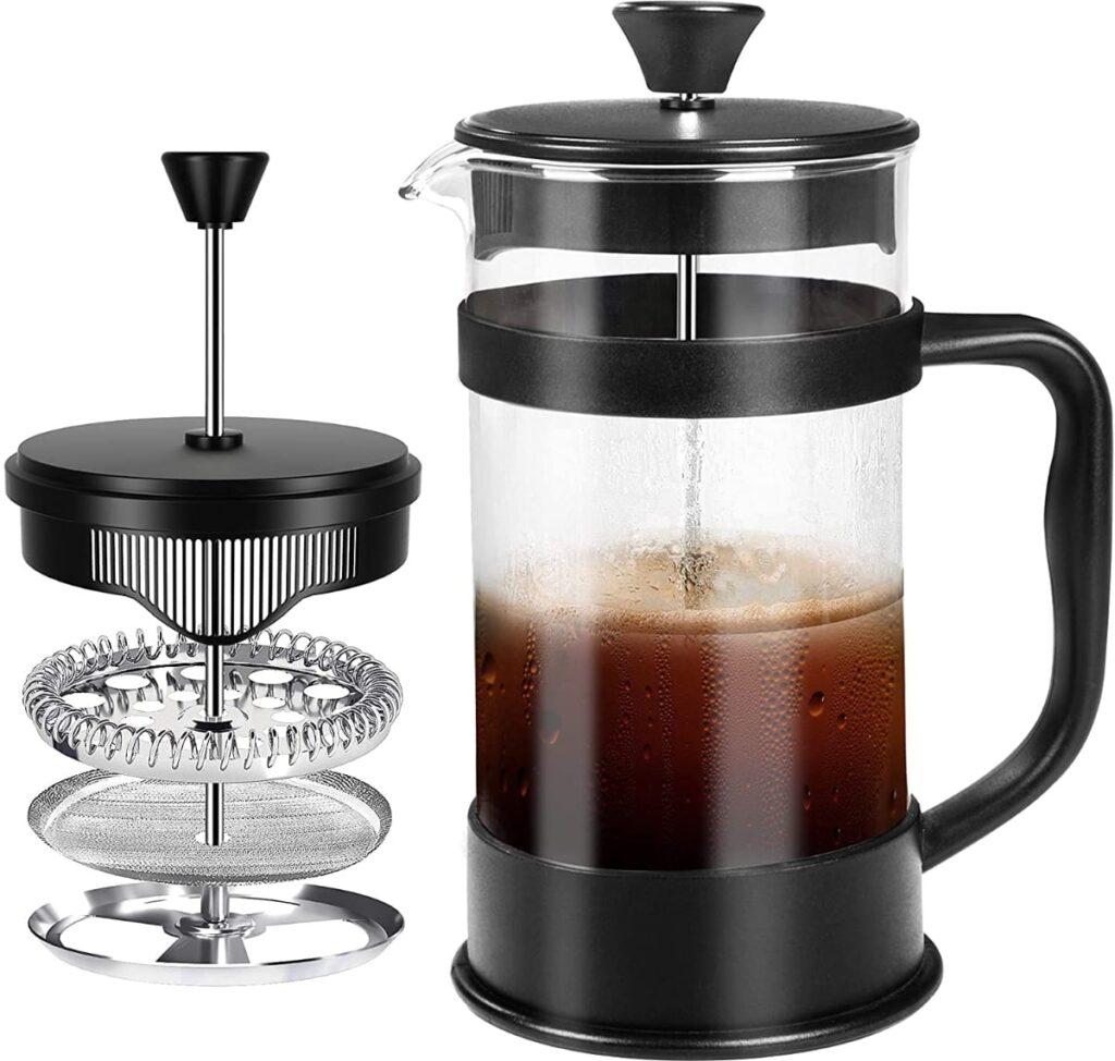 KICHLY - cafetera de 8 tazas (1 litro)